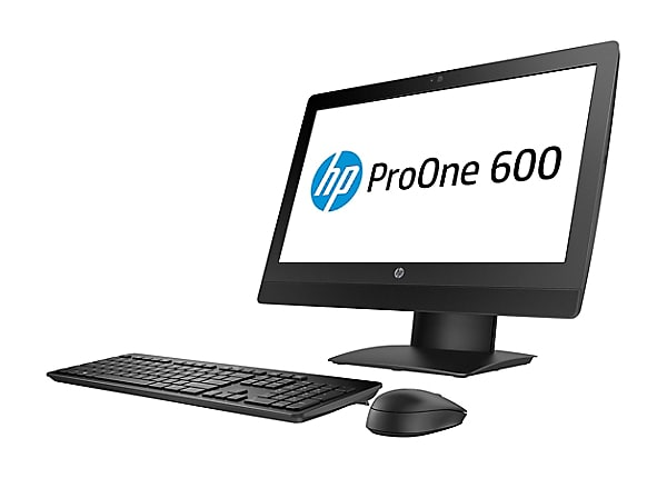 HP ProOne 600 G3 - all-in-one - Core i3 7100 3.9 GHz - 4 GB - 500 GB - LED
