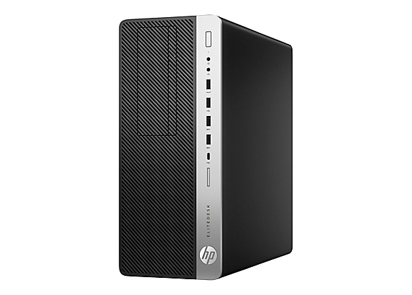 HP EliteDesk 800 G3 - tower - Core i5 7500 3.4 GHz - 8 GB - 256 GB - French