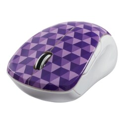 Verbatim Wireless Notebook Multi-Trac Blue LED Mouse - mouse - 2.4 GHz - pu