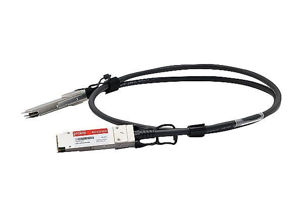 Proline 100GBase-CU direct attach cable - TAA Compliant - 10 ft