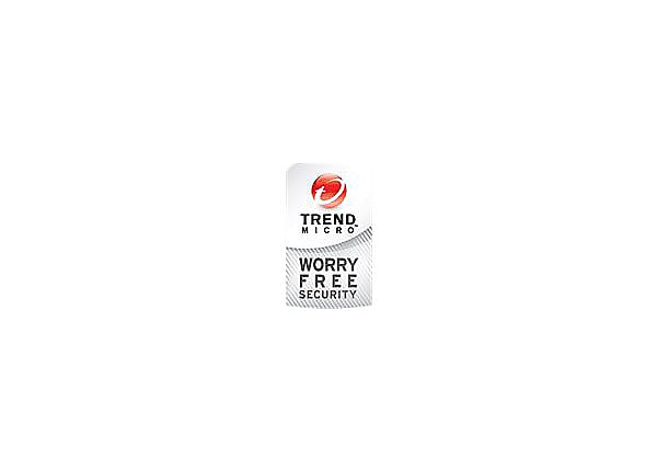 Trend Micro Worry-Free Services Advanced - license - 1 user - with Trend Mi