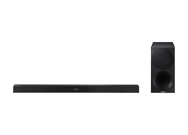 Samsung HW-M450 - sound bar system - for home theater - wireless