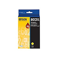 Epson 802XL With Sensor - High Capacity - yellow - original - ink cartridge