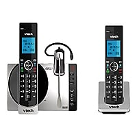 VTech DS6771-3 - cordless phone - answering system - with Bluetooth interfa