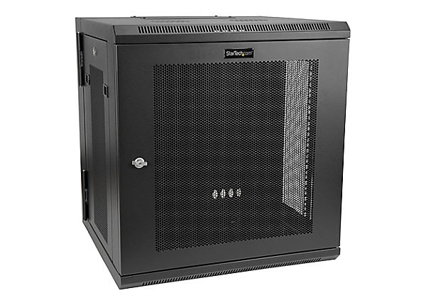 StarTech.com 12U Wallmount Server Rack Cabinet - Hinged - Up to 17 in. Deep