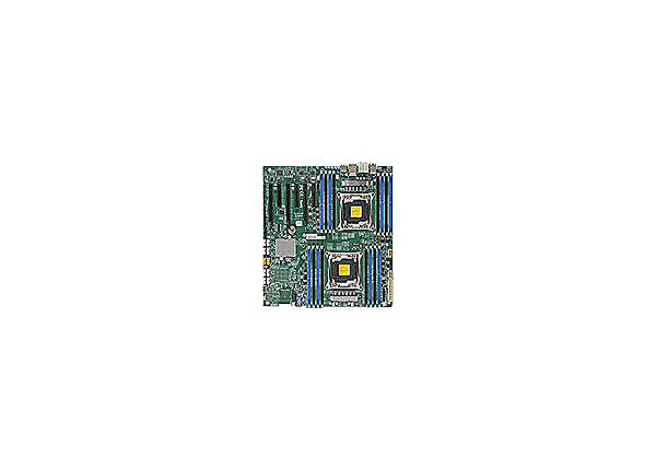 SUPERMICRO X10DAi - motherboard - extended ATX - LGA2011-v3 Socket - C612