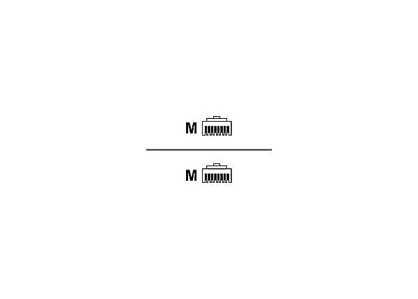 Black Box GigaTrue 3 patch cable - 20 ft - yellow