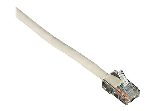 Black Box patch cable - 6 ft - white