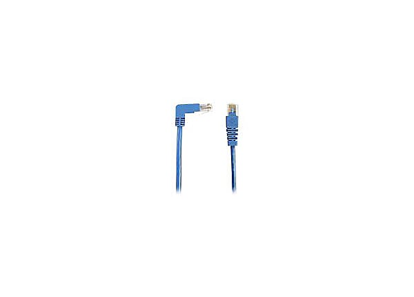 Black Box SpaceGAIN Down to Straight - patch cable - 1 ft - blue
