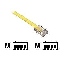 Black Box 1ft Gray Cat5 CAT5e UTP Patch Cable, 350Mhz, No Boot, 1', 25-Pack