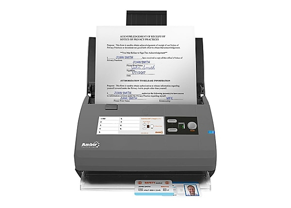 Ambir ImageScan Pro 830ix - for Athena Users - document scanner - desktop -