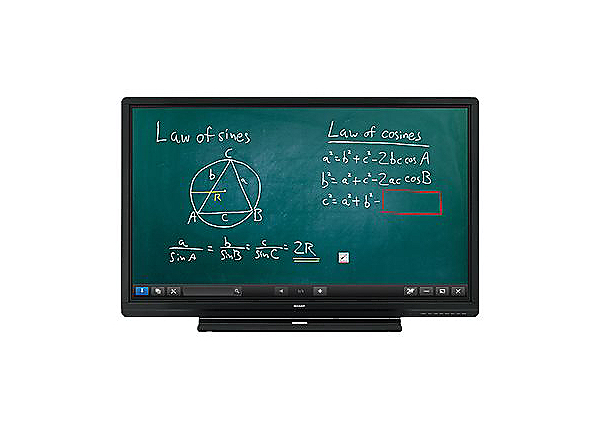 "Sharp PN-C605B Aquos Board - 60"" Class (60.125"" viewable) LED display - Ful"