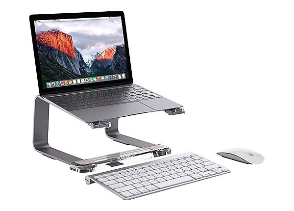 Griffin Elevator Notebook Stand - Space Gray