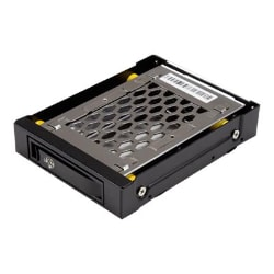 StarTech.com 2.5 SATA Drive Hot Swap Bay for 3.5 Front Bay - Anti-Vibration
