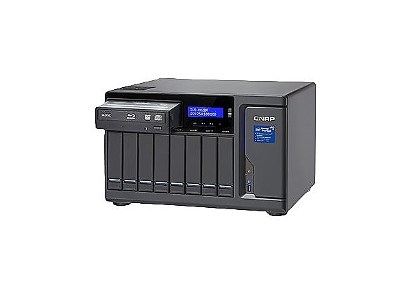 QNAP TVS-882BR - NAS server - 0 GB