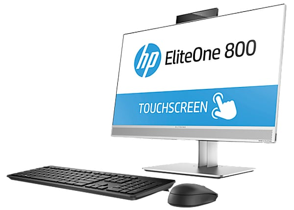 "HP EliteOne 800 G3 23.8"" Core i5-7500 128GB HD 8GB RAM"
