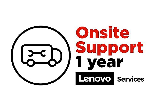Lenovo Post Warranty Onsite - extended service agreement - 1 year - on-site