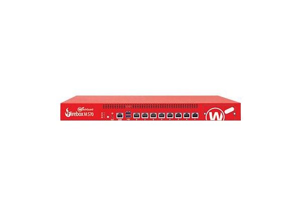 WatchGuard Firebox M570 - security appliance - WatchGuard Trade-Up Program
