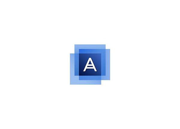 Acronis Backup Standard Workstation (v. 12.5) - license + 1 Year Advantage