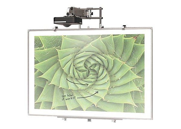 "BALT Interactive Projector Board with Brio Trim - projection screen - 86"" ("