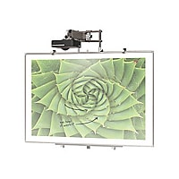 BALT Interactive Projector Board with Brio Trim - projection screen - 86 in