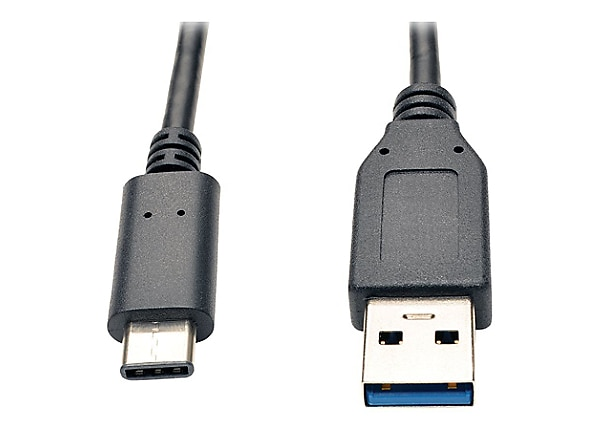 Tripp Lite 3ft USB 3.1 Gen 2 USB-C to USB-A Cable 10 Gbps USB Type-C M/M 3'