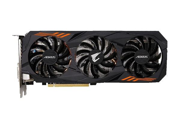 Gigabyte AORUS GeForce GTX 1060 6G (rev. 2.0) - graphics card - GF GTX 1060