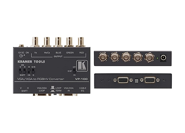 Kramer TOOLS VP-100 VGA to RGBHV converter