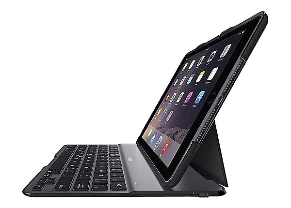 Belkin QODE Ultimate Lite - keyboard and folio case - black