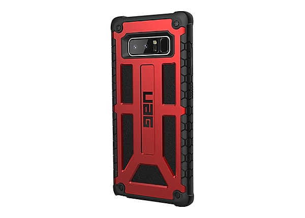 UAG Monarch Series Rugged Case for Samsung Galaxy Note 8 - back cover for cell phone