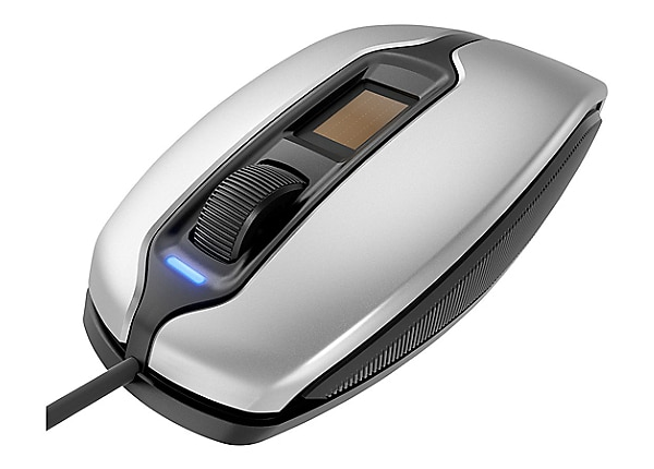 CHERRY MC4900 - mouse - USB - silver/black