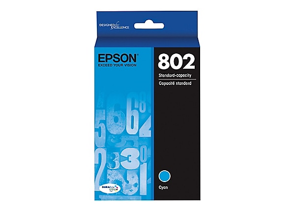 Epson T802 with Sensor - cyan - original - ink cartridge, Penny Shipping