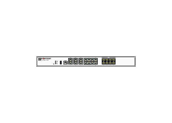 Fortinet FortiGate 100EF - UTM Bundle - security appliance - with 3 years F