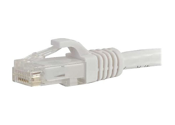 C2G 10ft Cat5e Snagless Unshielded UTP Network Patch Ethernet Cable White