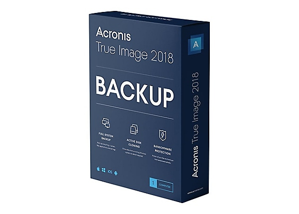 Acronis True Image 2018 - license - 1 computer