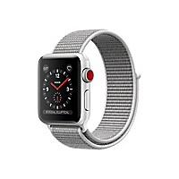 Apple Watch Series 3 (GPS + Cellular) - silver aluminum - smart watch with