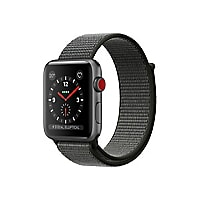 Apple Watch Series 3 (GPS + Cellular) - space gray aluminum - smart watch w