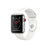 Apple Watch Series 3 (GPS + Cellular) - stainless steel - smart watch with