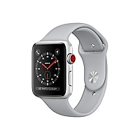 Apple Watch Series 3 (GPS) - silver aluminum - smart watch with sport band