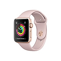 Apple Watch Series 3 (GPS) - gold aluminum - smart watch with sport band pi