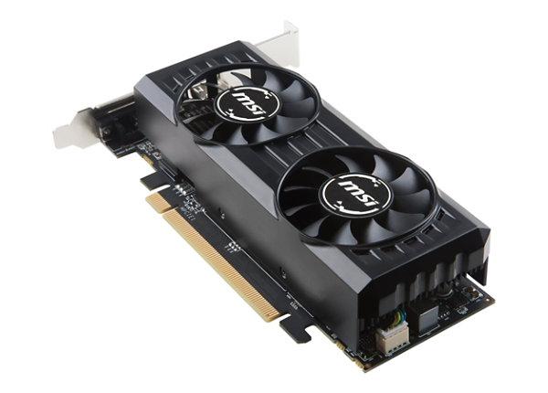MSI RX 550 2GT LP OC graphics card - Radeon RX 550 - 2 GB