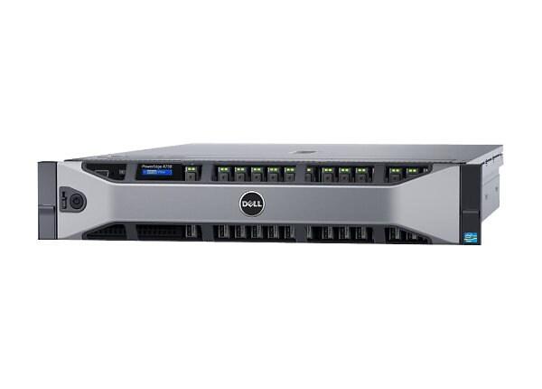 Dell PowerEdge R730 - rack-mountable - Xeon E5-2620V4 2.1 GHz - 16 GB - 300