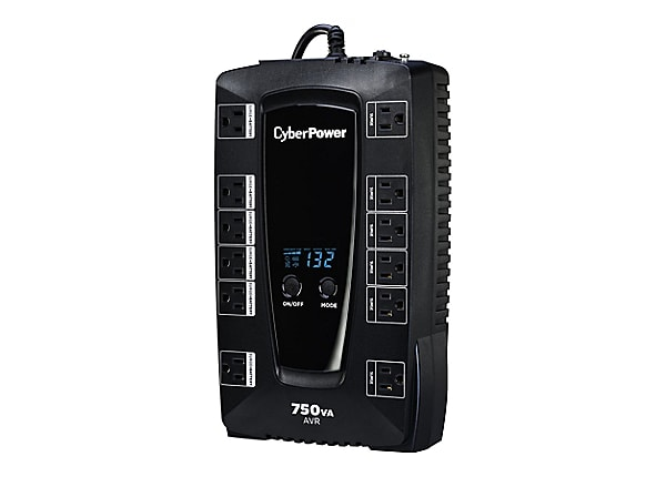 CyberPower Intelligent LCD AVRG750LCD - UPS - 450 Watt - 750 VA