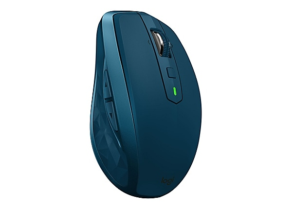 Logitech MX Anywhere 2S - mouse - Bluetooth, 2 4 GHz - midnight teal
