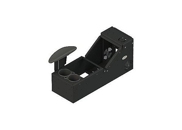 Gamber-Johnson Universal Sloped Console Box Kit - mounting kit (low profile