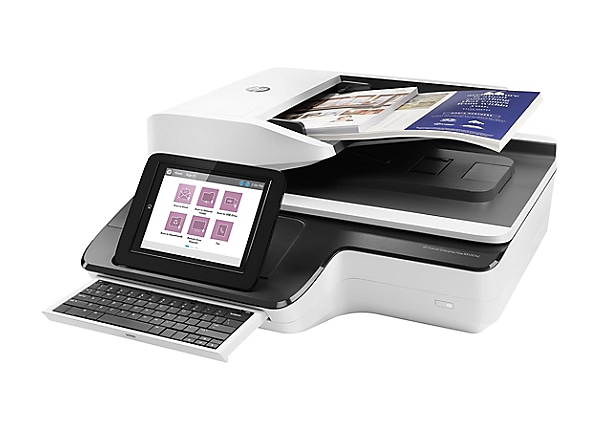 HP ScanJet Enterprise Flow N9120 fn2 Flatbed Scanner - document scanner - d