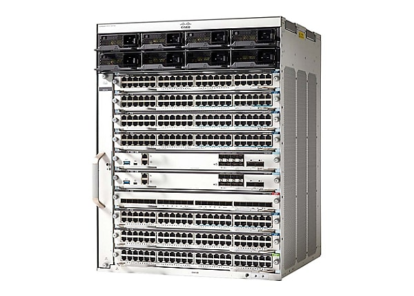 Cisco Catalyst 9400 Series chassis - switch - rack-mountable - with 2 x C94