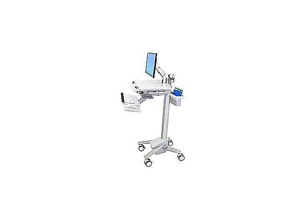 Ergotron StyleView EMR Cart with LCD Arm - cart