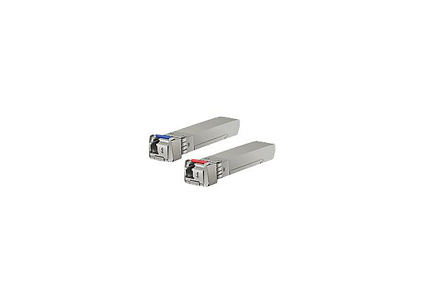 Ubiquiti U Fiber Single-Mode - Blue and Red transceivers pair - SFP+ transc