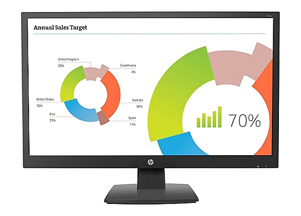 HP V273a - LED monitor - Full HD (1080p) - 27""